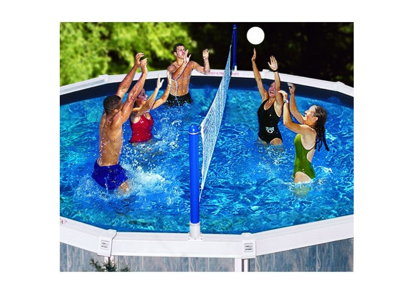 Cross Pool Volley Above Ground Volleyball Game Pool Toys Games Pool City