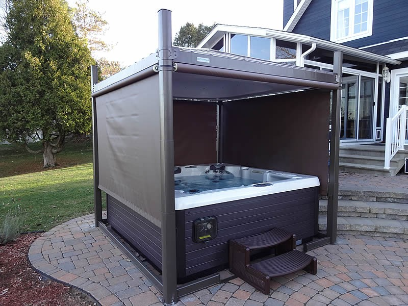 Oasis Hot Tub Cover Spa Gazebos Pool City