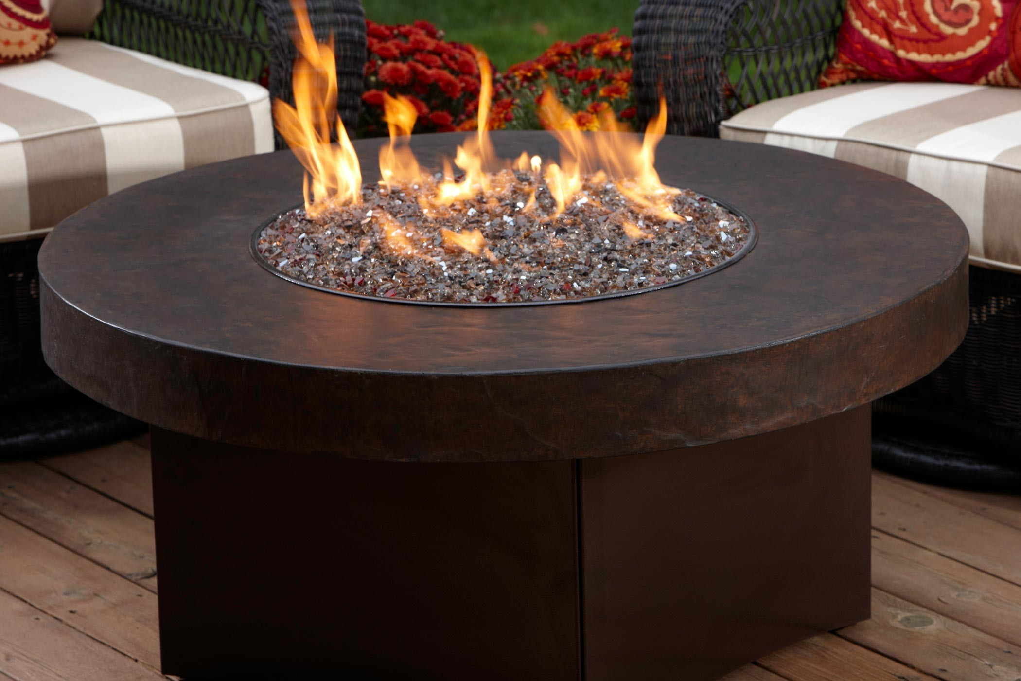 Oriflamme Savanna Stone Fire Tables Fire Pits Tables Pool City