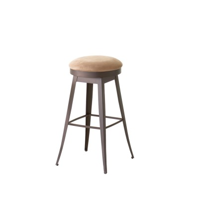 Grace Upholstered Swivel Stool