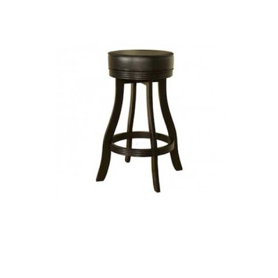 Designer stool Black