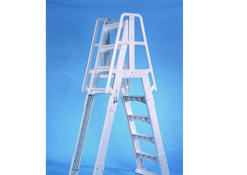 Vinyl Works Slide Lock Quot A Quot Frame Safety Ladder Steps