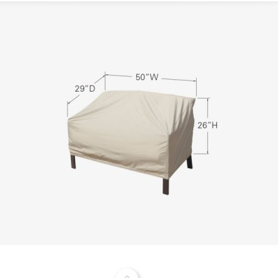 Loveseat Glider Cover with Elastic alternate image