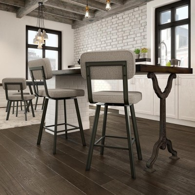 Brixton Swivel Stool alternate image
