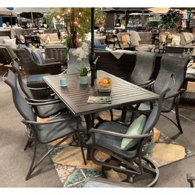 Corsica High Back Dining and Swivel Chairs from Troptione