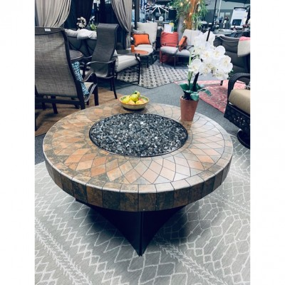 Artesian Mosaic Stone Fire-pit  from Oriflamme