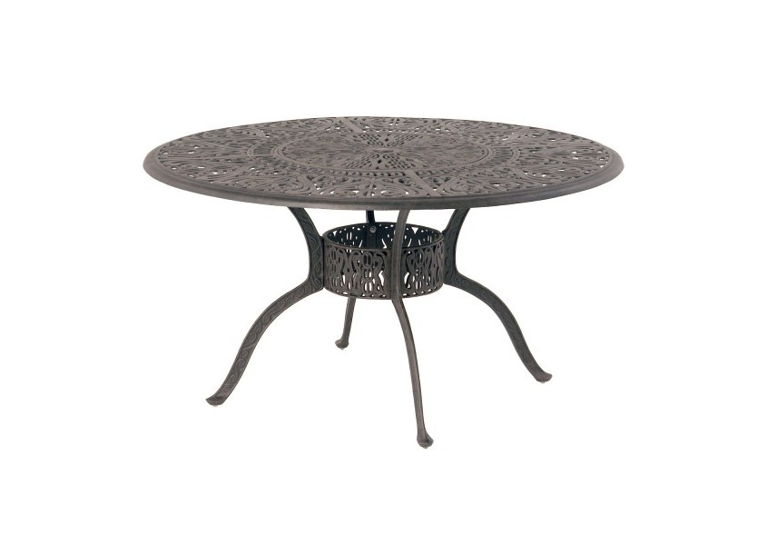 dining tables tuscany 54 round table with built in lazy susan