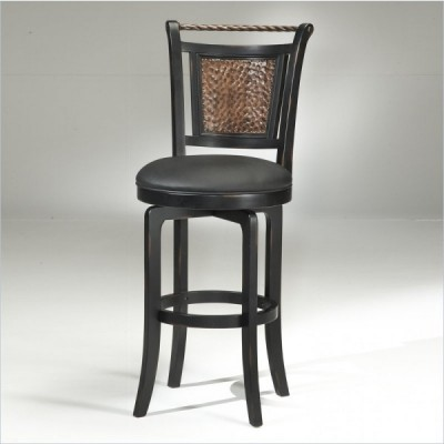 Caroline Brown Swivel Bar Stool