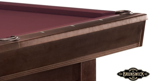 Bridgeport Billiard Table By Brunswick Brunswick Pool Tables - Brunswick bridgeport pool table